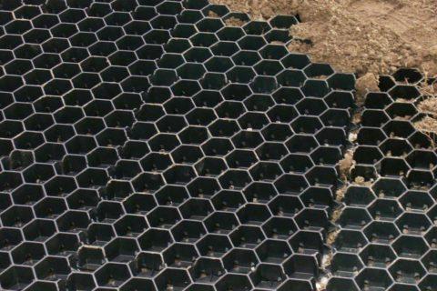 Contrôle de l'érosion - Cellules d'engazonnement