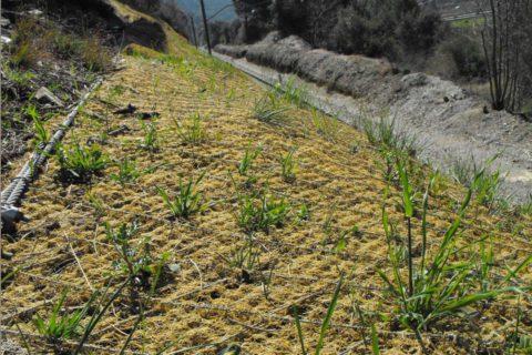 Contrôle de l'érosion - Matelas de stabilisation non-biodégradables
