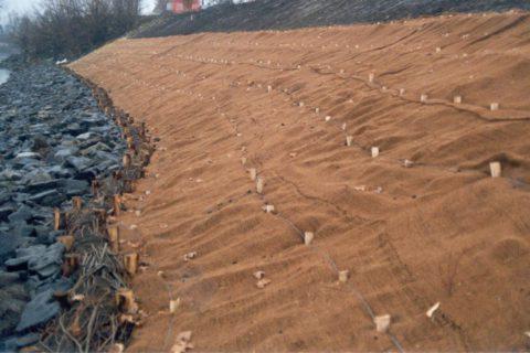Contrôle de l'érosion - Matelas de stabilisation biodégradables